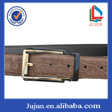 Good quality popular leather belt two part belt buckles