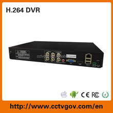 4channel 960H CCTV Camera system iCloud P2P H.264 Stand-alone Analog DVR