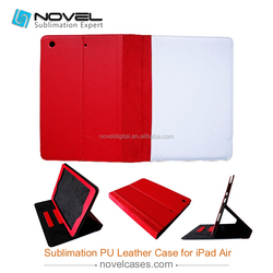 HOT SALE!!! China-factory-made DIY Sublimation Smart Flip Cover For Ipad Air
