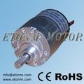 12v motor eléctrico sin escobillas con engranaje reductor