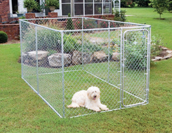 galvanized fence panels for dog run(pet fencing)