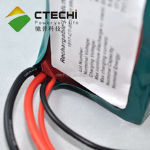 High power 5P13S 18650 48.1V 17ah lithium rechargeable battery pack for electric vehicles