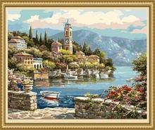 40*50cm wholesale diy digital oil painting, painting by number