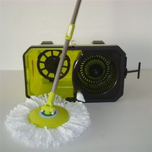 With Driver Hurrican Easy Twist Mop With Wheels As Seen on TV 2014 New Product Hurrican Easy Twist Mop