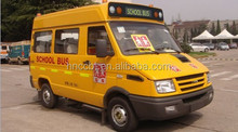 supply chinese brand new one commercial van bus for school bus use