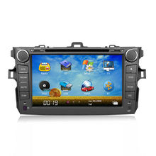 Corolla Car Stereo GPS with Bluetooth/IPOD/USB 8inch 2din with 3G