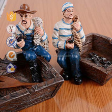 Seaman Ashtray Resin crafts Mediterranean wind Ashtray novelty promotional items