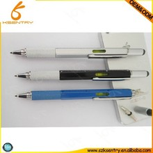 For phone iPad/Tablet/eBook Accessories Styluses Multi Function Touch Screen Tool Stylus Pen with Spirit Level Ruler Screwdriver