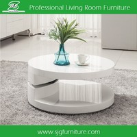 fancy wooden coffee tables Rotating Coffee Table CT-802