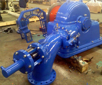 Micro Hydro Tubrine 100kW Turgo Turbine / mini hydro turbine