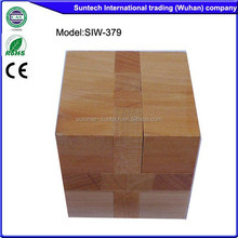 wooden toy cube puzzle game Cube