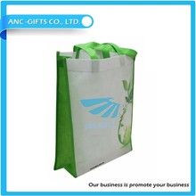 Wholesale 100gms pp laminated recyclable promotional non woven shopping bag