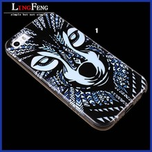 High quality pc tpu mobile phone case for iphone 5 iphone 6 3d cell phone case for mobile phone accessory