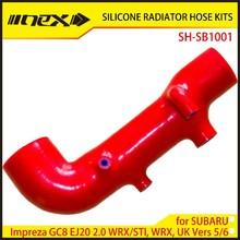 Engine part Silicone Hose Kit for SUBARU Impreza GC8 EJ20 2.0 WRX/STI, WRX, UK Vers 5/6 (1)