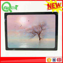 shenzhen clear acrylic plexiglass picture stand frames photo