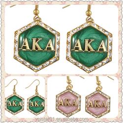 Vnistar sorority aka earrings jewellery