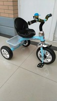 2015 Cheap kids tricycle with back seat best quality tricyle for 2-6 years old color baby trike for sale