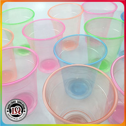16oz plastic colored disposable pp cup