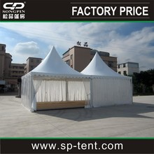 morden design 5x5m luxury wedding party tent with lining decoration and flooring
