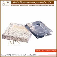 China manufacture hot sale glass ashtrays promotional glass ashtray large cigar glass ashtray
