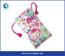 fashionable hello kitty cell phone bag