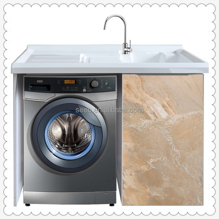1000 tc03 modern laundry sink aluminium waterproof for Waterproof bathroom cabinets