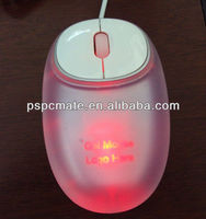 silica gel crystal wired mouse