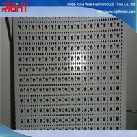 metal fireplace screen / perforated metal screen for radiator