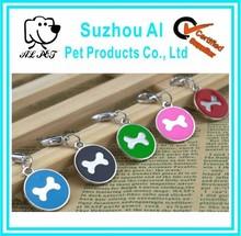 Custom Engraved Pet ID Tags Dog Collar Charms Metal Dog Tag