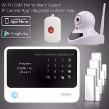 WIFI alarm system first release !! Smart WIFI home security alarm system APP control GPRS alarm system