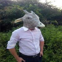 Grass eater animal girafe latex Mask