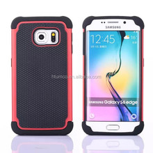 Newest design Modern Style Double Layer orbit flex, tpu soft case for samsung s6 /samsung s6 edge - (Multiple colors)