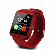 OEM Superb Quality smart watch smart watches with black,white, red colors for android and IOS phones