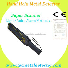 Handy Metal Detector 1165180 Super Scanner, portable metal detector, military metal detectors