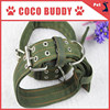 OEM Best Seller Super four layer thick nylon pet products dog leash collar