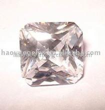 hot sale Gemstones ,machine cut cz crystal gems,semi precious stones akik stone