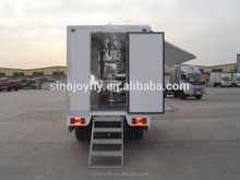 fast food trailer for sale with street selling function food service hot dog cart
