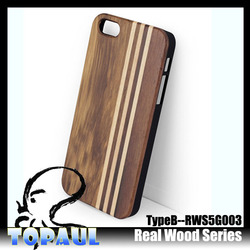 High quality beautiful custom wood protective housing case for iphone 6 plus