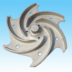 2015 Hot Sale Precision Casting Stainless Steel Closed Impeller