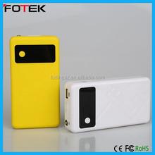 Hot sale gift for girl boyfriend promotional power bank/7800mAh powerbank starter