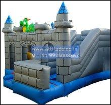 Castle Moonwalker Inflatable