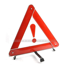 Long Distance Visibility Warning Reflective Triangle, Car Safety Reflective Triangle