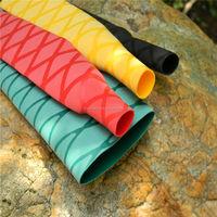 Slip resistance heat shrink wrap tube for fishing rod