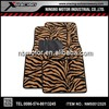 XRACING 2015 4pcs Anti Slip Pvc Zebra Carpet Car Mat,Car Floor mat