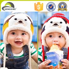 Lovely Baby panda woolen yarn wholesale hat