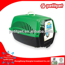 green color flight cage pet air carrier,pet air box