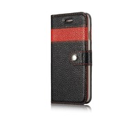 2015 New Style Fashion Luxury Card Holder Genuine Leather Phone Case For Iphone 6