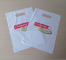 Plastic Patch Handle bags With EPI biodegradable additive
