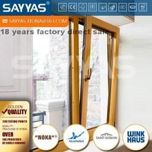 tilt and turn European style wood windows