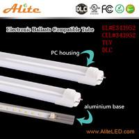 DLC UL cUL High lum 120lm/w Ra80 18w led tube 1200mm tube led light